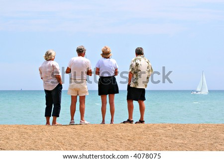 retirement planning by the beach