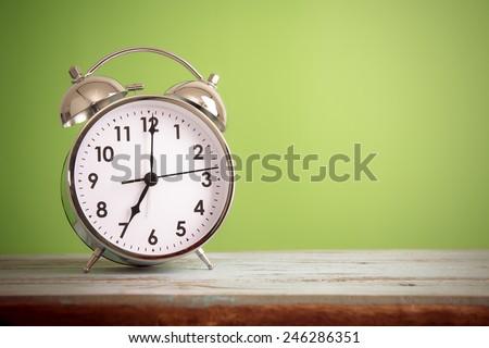 retro alarm clock with retro...