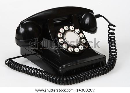 Retro antique 1950's style telephone