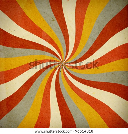 retro background with twist pattern