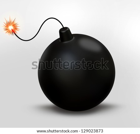 Retro black Bomb