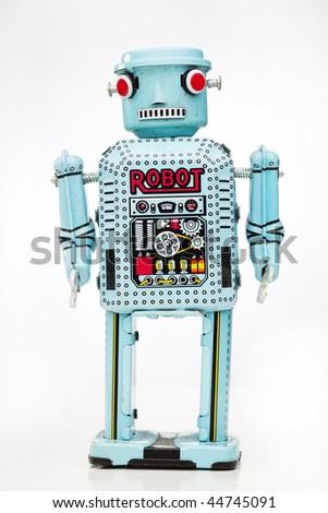 retro boy robot