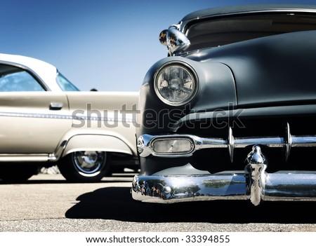 Retro car - American classics