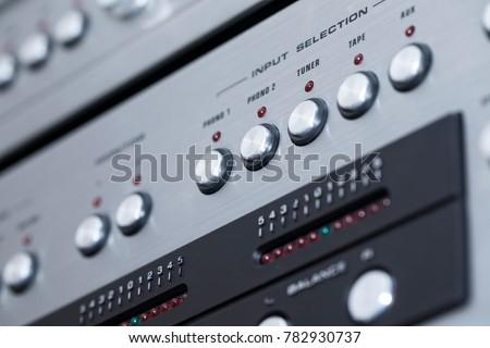 Retro Cassette Player #782930737