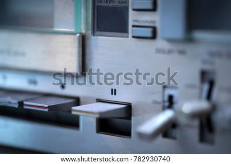 Retro Cassette Player #782930740