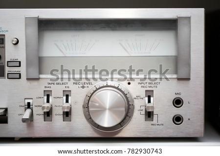Retro Cassette Player #782930743