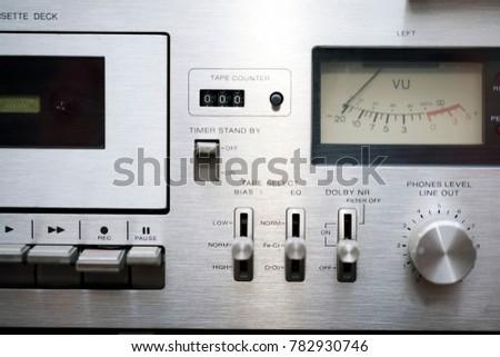 Retro Cassette Player #782930746