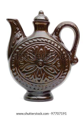 Retro Ceramic teapot or carafe.