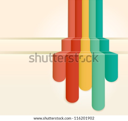 Retro Colour Abstract Background (jpg). Vector version also available