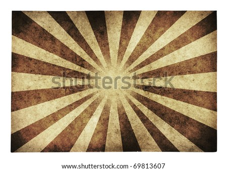 retro grunge paper isolated, vintage background