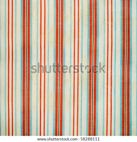retro grunge striped of fabric
