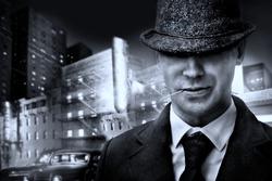 retro Italian mafia gangster in 1930s