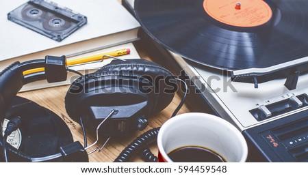 retro music background #594459548