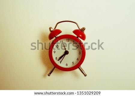 Retro oclock retro clock vintage color tone.  #1351029209