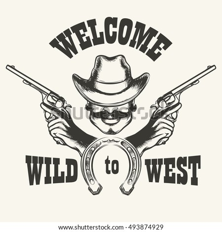 retro poster welcome to wild...