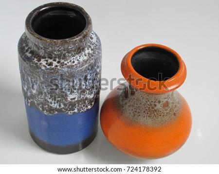 retro pottery #724178392