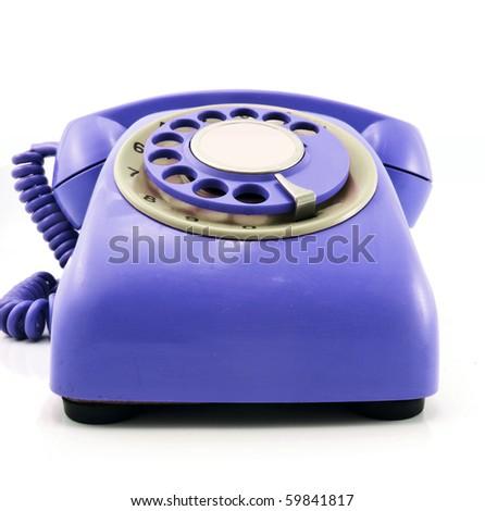 Retro Purple Phone Retro Purple Phone