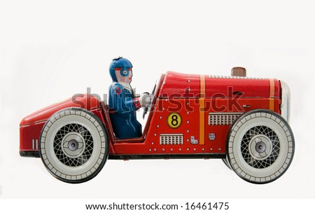retro race car