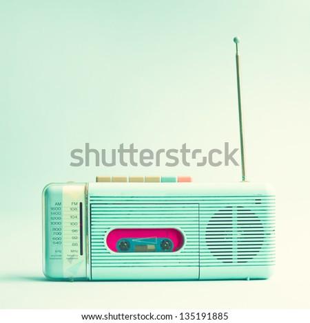 Stock Photo Retro Radio