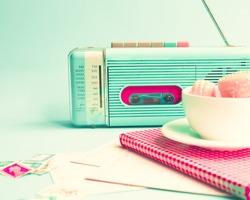 Retro Radio and Still Life