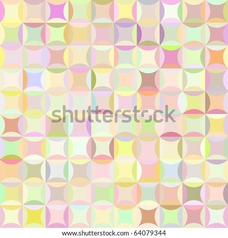 Retro raster pattern