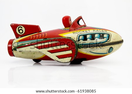 retro rocket toy