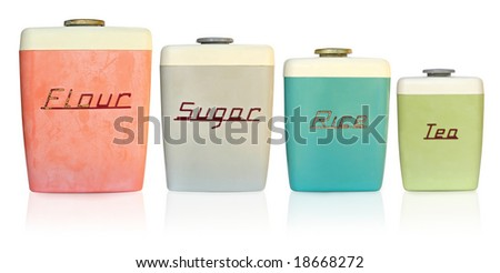 Flour Sugar Tea Canisters Canisters For Flour Sugar