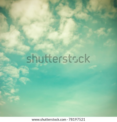 Retro Sky #78197521