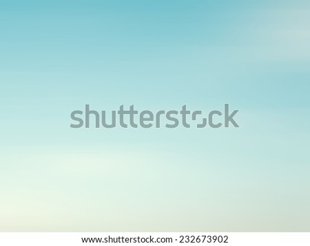 retro sky with soft cloud background
