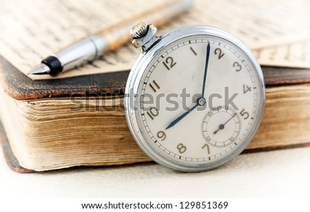 Retro still life - stock photo
