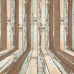 Retro striped wooden background