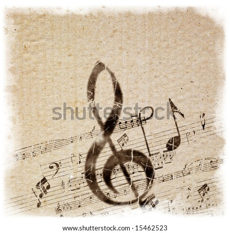 Retro Style Music Background. Background Series - see more in more portfolio.