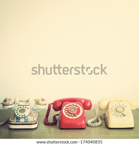 Retro Telephones