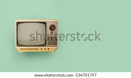 Retro television header