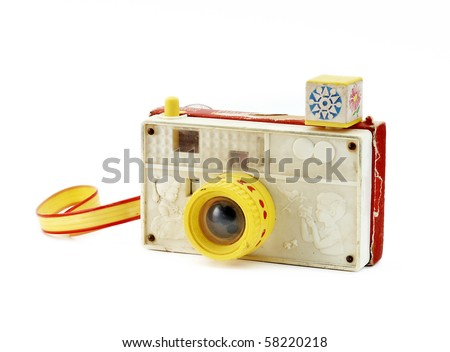 Retro toy camera