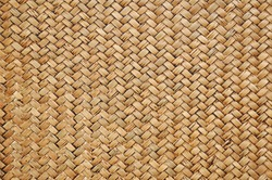 Retro woven wood pattern background