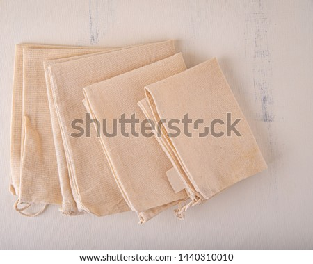 Reusable and environmentally friendly cloth bags used for grocery shopping. #1440310010