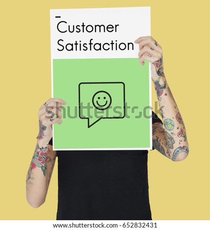 Review Evaluation Satisfaction Customer Service Feedback Sign Icon #652832431