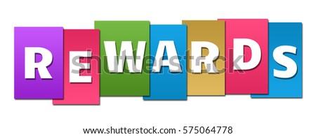 Rewards Colorful Stripes  Photo stock ©