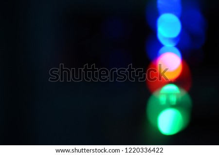 RGB lighting background, LED RGB Bokeh. #1220336422
