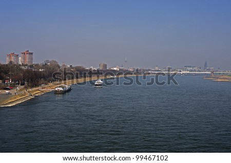 Rhein bei K�¶ln