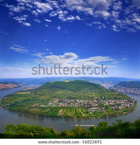 Rhine Valley,  Germany,  UNESCO