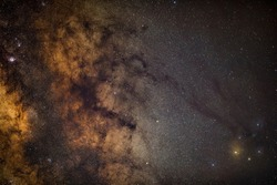 Rho Ophiuchus Captured with an amateur DSLR Camera