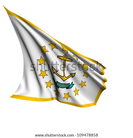Rhode Island flag - USA state flags collection no_2