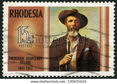 rhodesia   circa 1971  a stamp...