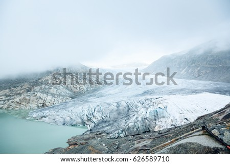 Rhone Glacier, Switzerland #626589710
