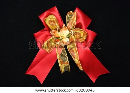 ribbon bow for gift box