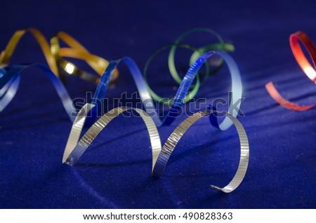 Ribbons - New Year Card #490828363