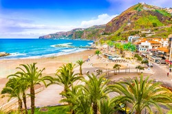 Ribeira Brava town, Madeira island, Portugal