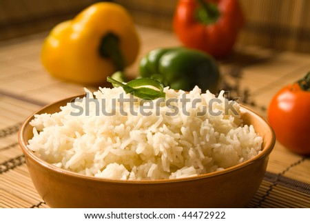 Rice - stock photo